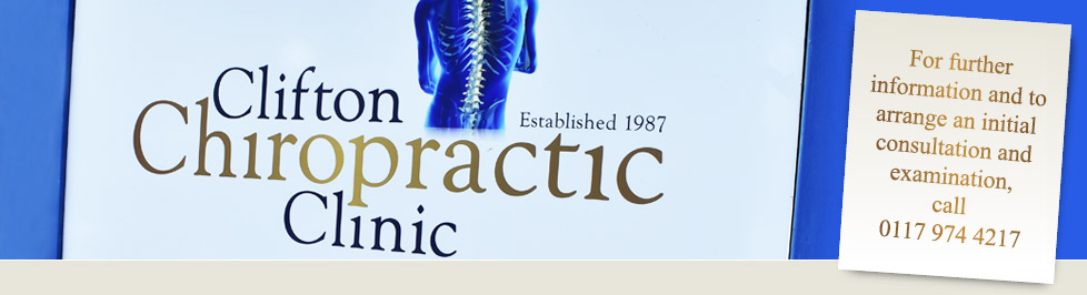 Clifton Chiropractic Clinic signage